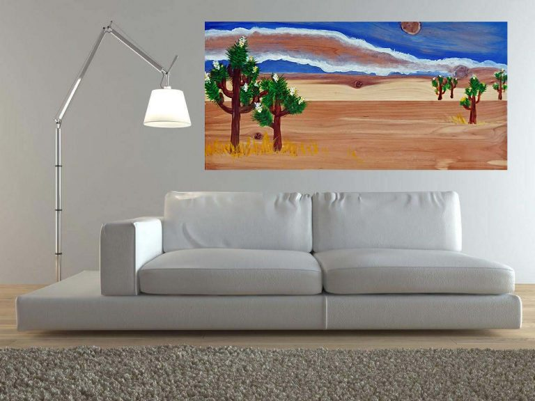 Desert Escape in your living room